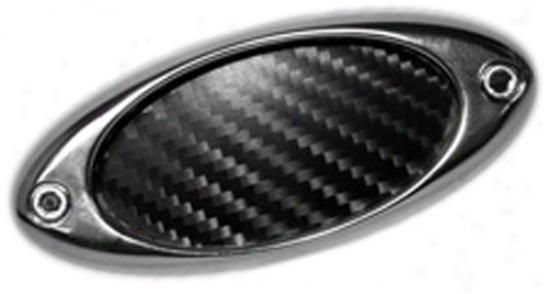 Pilot Stick-on Chrome Oval Fender Air Vents (6 Piece Kkt)