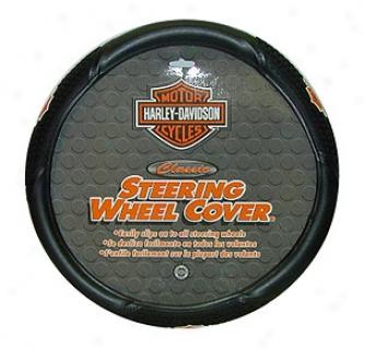 Plasticolor Harley Davidson Steering Wheel Cover