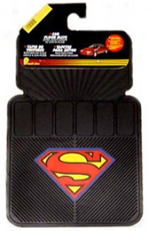 Plastucolor Superman Car Floor Mats