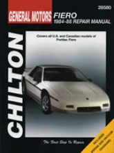 Pontiac Fiero (1984-88) Chilton Manual