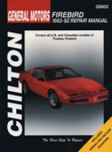 Pontiac Firebird (1982-92) Chilton Manual