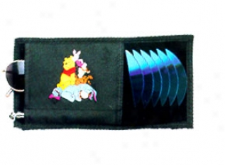 Pooh And Friends Cd Visor Organizer