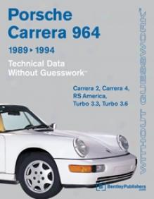 Porsche 911 Carrera (964): 1989-1994 Technical Data