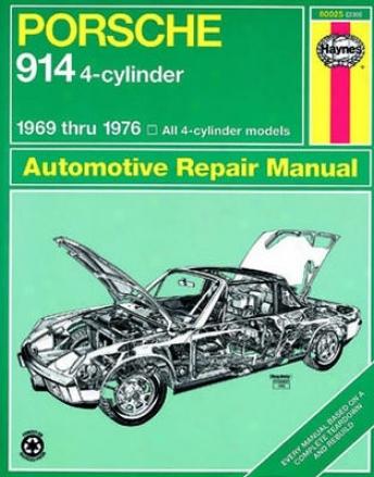 Porsche 914 4-cylinder Haynes Repair Manual (1969-1976)