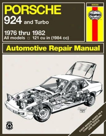 Porsche 924 (including Turb)o Haynes Repair Manual (1976 - 1982)