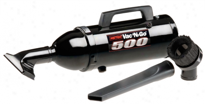 Portable Vac N' Go? 500 Watt Vacuum