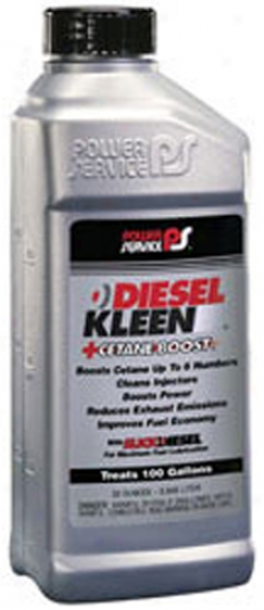 Power Service? Diesel Kleen +detane Boost Fuel Additive (32 Oz.)