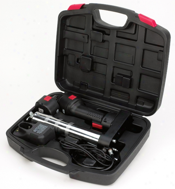 Powerbuilt? 12v Cordless Grease Gun Kit