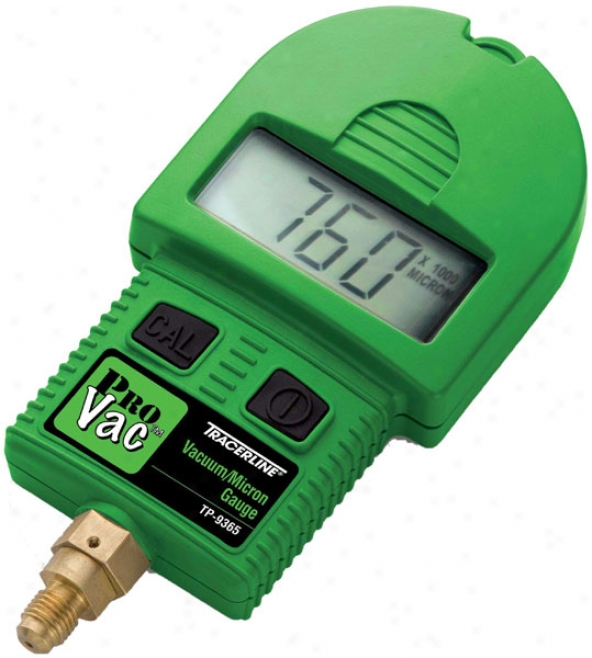 hook up micron gauge vacuum pump