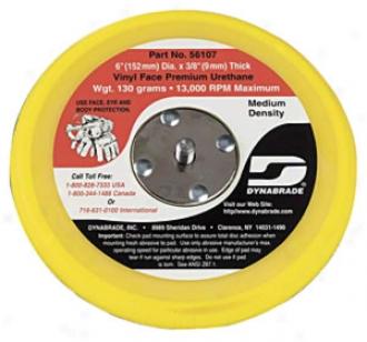 Psa Vinyl-face 6'' Diameter Random Orbital Sanding Pad