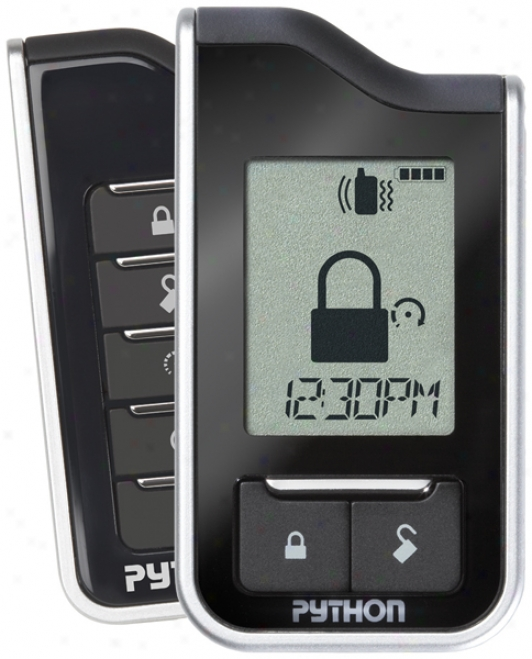 Python 991 Responder Lc3 2-way Security And Remote Start System