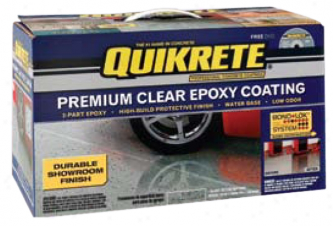 Quikrete? Premium Clear Epoxy Coating