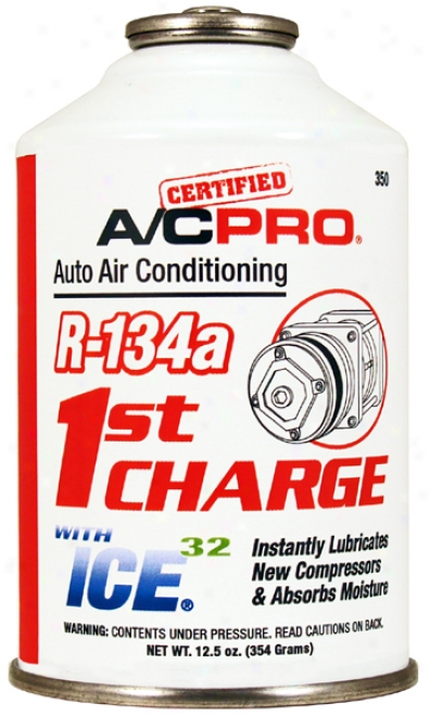 R-134a 1st Charge With Ice-32 Lubricant Enhancer (12.5 Oz.)