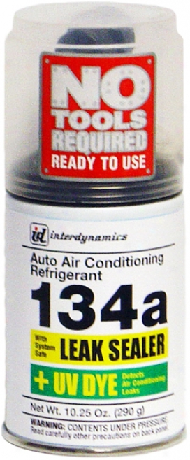 R-134a Refrigerative With Leak Sealer/uv Dye & Trigger (10.25 Oz.)