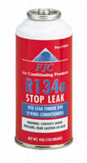 R134a Stop Leak With Red Leak Detection Dye - 4 Oz. Can