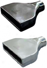 Ractive Camaro Gnomon  Stainless Steel 1 7/8'' Rectanglular Exhaust Tip