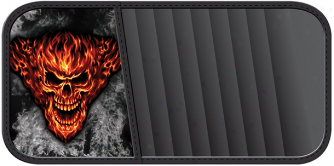 Raging Inferno Cd Visor Organizer