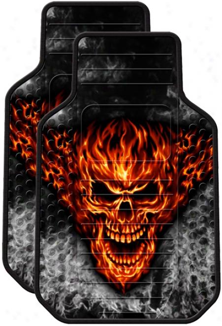 Raging Inferno Rubber Floor Mats (Suit)