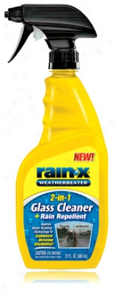 Rain-x 2-i-n1 Glass Cleaner & Rain Repellent