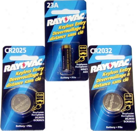 Rayovac Litbium Batteries