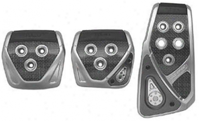 Razo Manual Carbon Racing Pedal Set