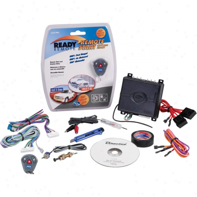Ready-remote Basic Remote Car Starter With Keyless Ingress