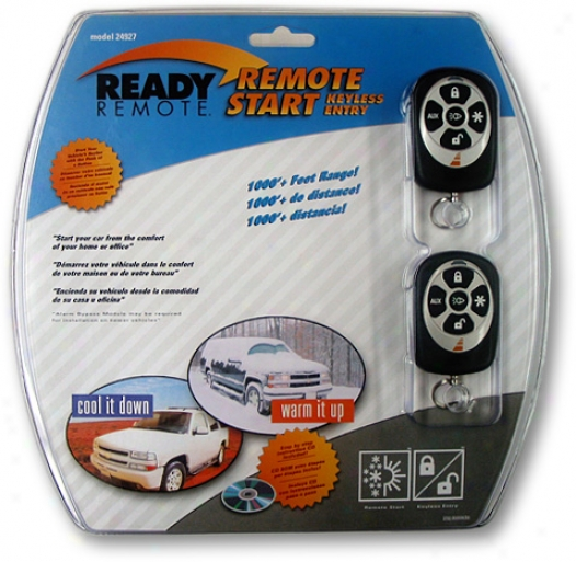 Ready Remote Remote Car Starter & Keyless Entry System