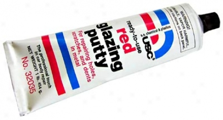 Ready-to-use Red Glazing Putty (16 Oz.)