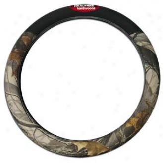 Realtree Hardwoods Steering Wheel Cover