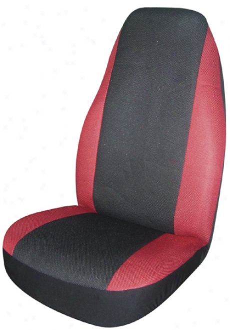 Red Cool Ride Universal Bucket Seat Cover