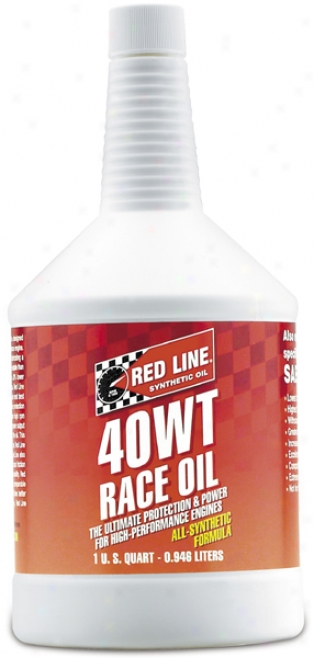 Red Lihe 40wt Synthetic Racing Oil (1 Qt.)