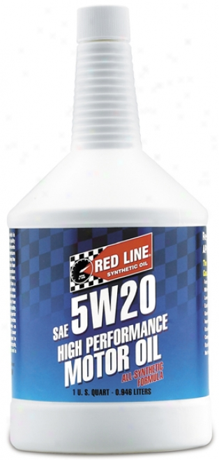 Red Line 5w20 Synthetic Motor Ol (1 Qt.)