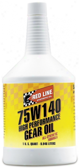 Red Line 75w140 Synthetic Gear Oil (1 Qt.)