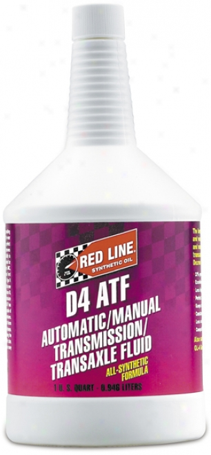 Red Line D4 Synthetic Automatic Transmission Liquid (1 Qt.)