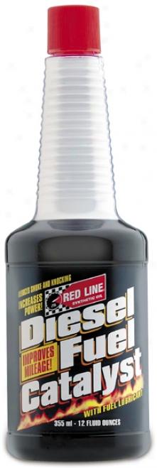 Red Line Diesel Fuel Catalyst (12 Oz.)