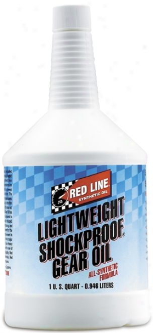 Red Line Lightweight Shockproof? Gear Oil (1 Qt.)