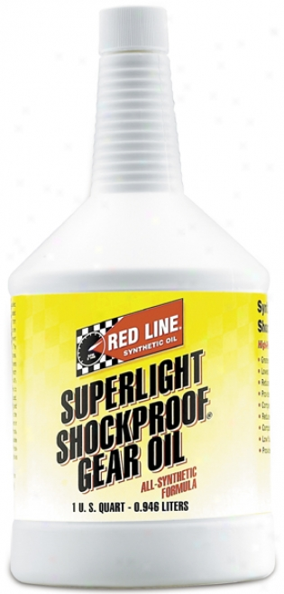 Red Line Super Light Shockproof? Gear Oil (1 Qt.)