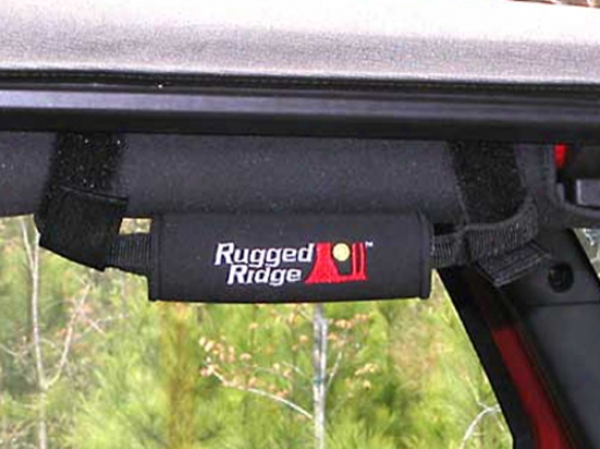 Red Rear Neoprene Snatch Handle Cover