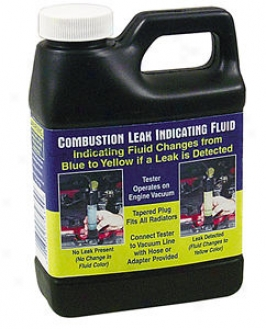 Replacement Testing Fluid For Combustion Leak Detector
