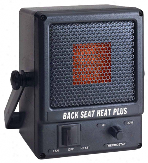 Road Worthy Back Seat Heat Plus 12v Portable Car Heater