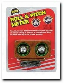 Roll And Pitch Meters For Broncos, Blazers, Jeeps, & All 4x4