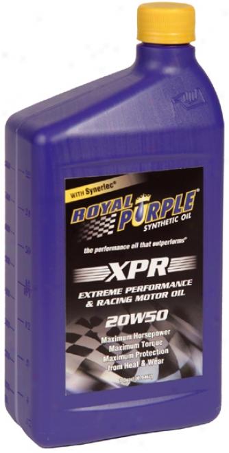 Royal Purple 20w50 Etreme Performance Racing 51 Motor Oil (1 Qt.)