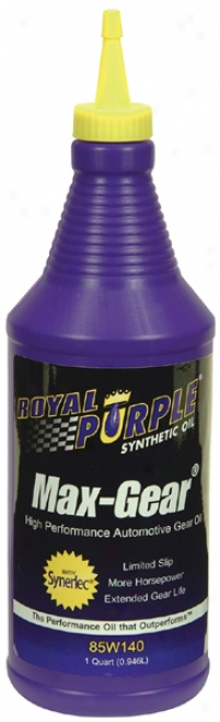 Royal Purple 85w140 Max-gear Oil (1 Qt.)