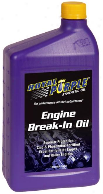 Royal Purple Engin Break-in Oil (1 Qt.)