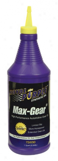 Royal Purple Max Appointments Synthetic Gearing Oil 75w90