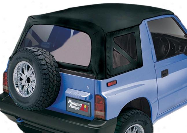 Rugged Extended elevation? Black Denim Suzuki Sidekick/ego Tracker Soft Top Replacement