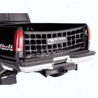Ruggec Extended elevation? Black Tailgate Net For Pickup Trucks