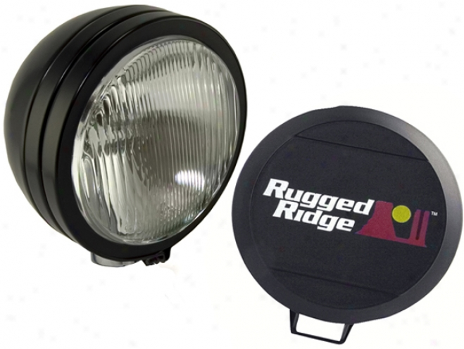 Rugged Ridge Single Hid Off-road Fog Lamp