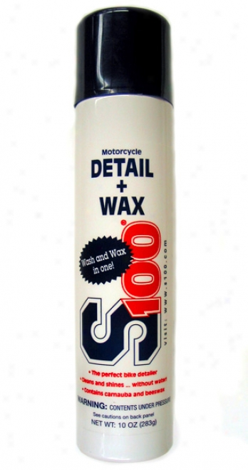 S100 Motorcycle Detail + Wax