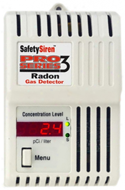 Safety Series? Radon Aeriform fluid Detector